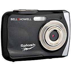 Bell + Howell Splash WP7 12MP Waterproof Black Camera|https://ak1.ostkcdn.com/images/products/5800717/Bell-Howell-Splash-WP7-12MP-Waterproof-Black-Camera-P13521202.jpg?impolicy=medium