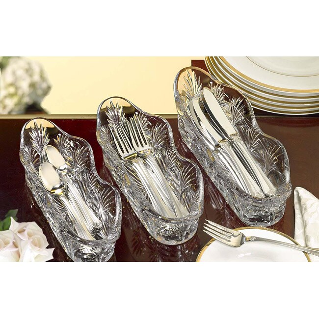 Shop Fifth Avenue Crystal Portico Utensil Caddies Set Of