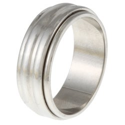 Stainless Steel Ribbed Spinner Band