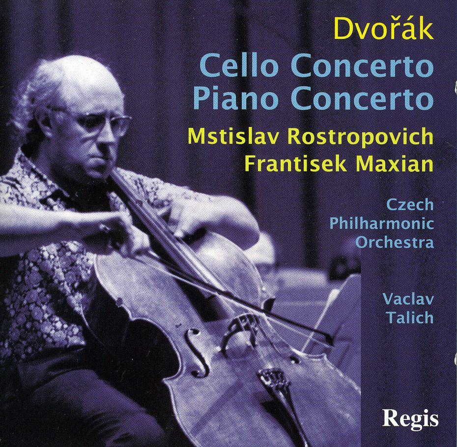 A. DVORAK - CELLO CONCERTO & PIANO CONCERTOS