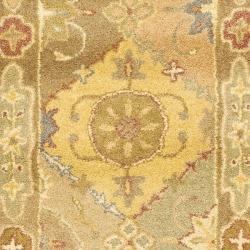 Safavieh Handmade Antiquities Bakhtieri Multi/ Beige Wool Rug (2'3 x 10') - Thumbnail 2