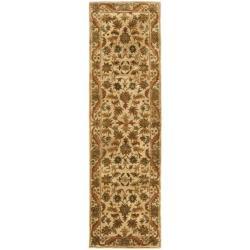 Safavieh Handmade Heritage Ivory Wool Runner (2'3 x 8')
