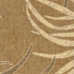Safavieh Courtyard Gold/ Cream Indoor/ Outdoor Rug (2'7 x 5') - Thumbnail 2