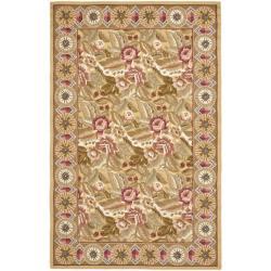Safavieh Hand-hooked Chelsea Eden Multi/ Gold Wool Rug (3'9 x 5'9)