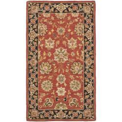 Safavieh Micro Hand-hooked Chelsea Kerman Red Wool Runner (2'6 x 4')
