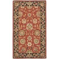 Safavieh Micro Hand-hooked Chelsea Kerman Red Wool Rug - 2'9 x 4'9