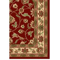 Oriental Melody Red Wool Rug (8' x 10') - Thumbnail 1
