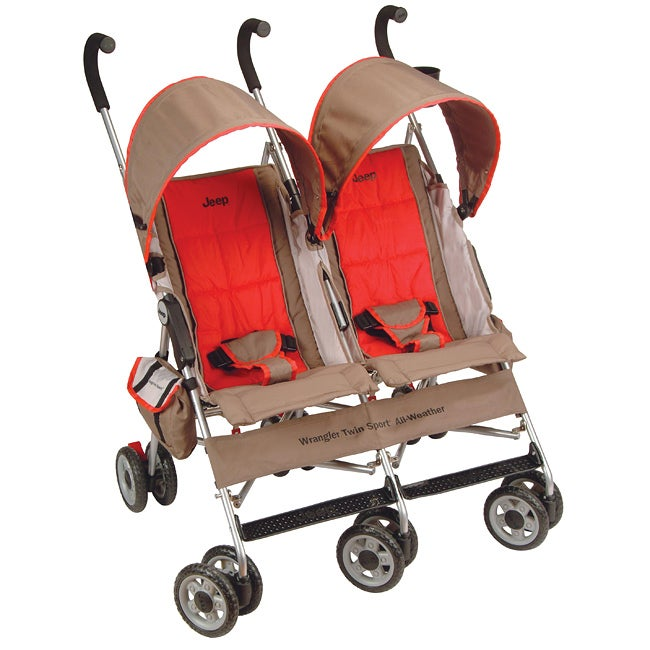 Jeep Wrangler Twin Sport All-Weather Stroller