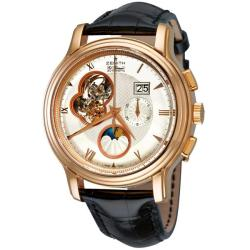 Zenith Men's 18.1260.4047/01.C505 'Chronomaster Open Grande Date Moonphase' Watch