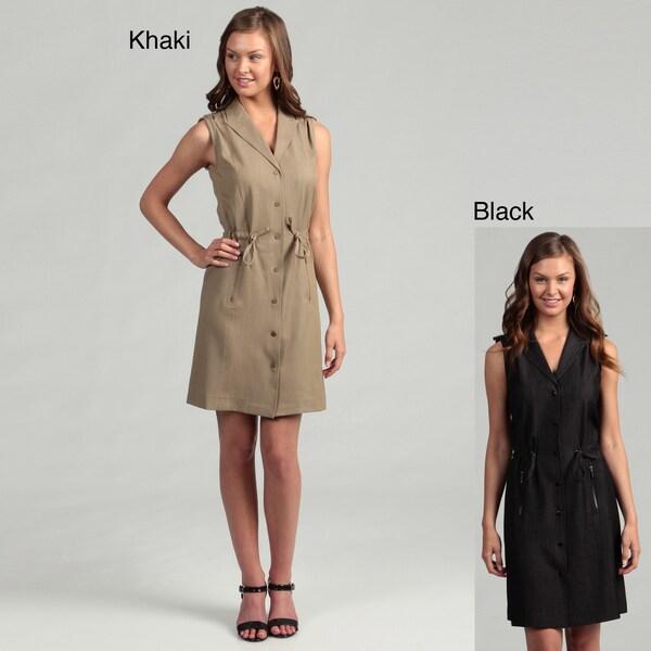 Calvin Klein Women's Sleeveless String Waist Dress