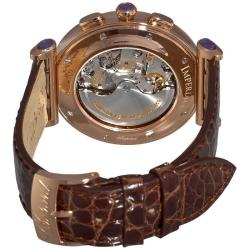 Chopard Women's 'Imperiale' Rose Gold Chronograph Watch - Thumbnail 1