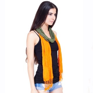 Shaded Stretchy Scarf (India)