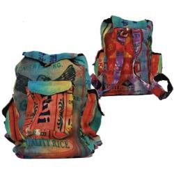 Jute Multicolor Backpack (Nepal)