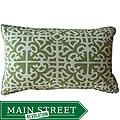 12 x 20-inch Malibu Green Outdoor Decorative Pillow