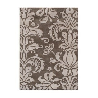 Alliyah Handmade Grey New Zealand Blend Wool Rug (9' x 12') https://ak1.ostkcdn.com/images/products/5807776/P13526943.jpg?_ostk_perf_=percv&impolicy=medium