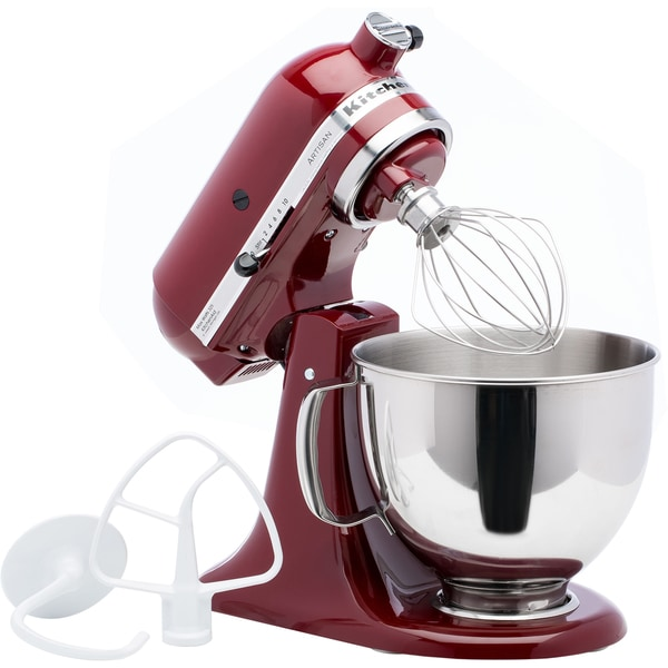 Shop Kitchenaid Rrk150gc Gloss Cinnamon Artisan Series 5