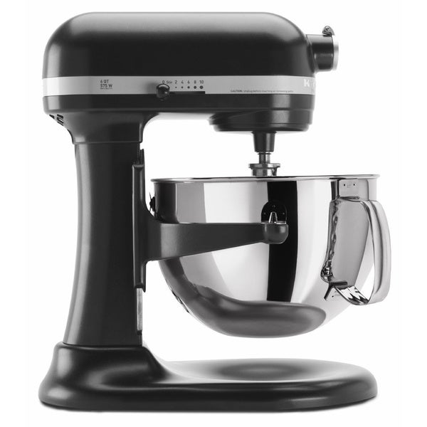 KitchenAid RKP26M1XLC Licorice 6-quart Pro 600 Bowl-Lift Stand Mixer (Refurbished)