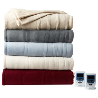 Beautyrest Cozy Plush Heated Electric Blanket