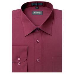 Men's Wrinkle -free Burgundy Dress Shirt|https://ak1.ostkcdn.com/images/products/5808962/Mens-Wrinkle-free-Burgundy-Dress-Shirt-P13527801.jpg?impolicy=medium