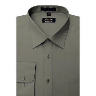 Link to Men's Wrinkle-free Charcoal Dress Shirt Similar Items in Shirts