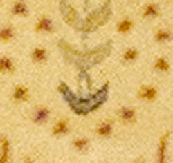 Indo Hand-tufted Gold Wool Rug (2' x 3') - Thumbnail 1