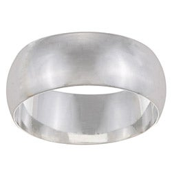Sterling Essentials Sterling Silver 9-mm Wedding Band