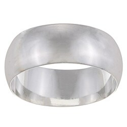 Sterling Essentials Sterling Silver 9-mm Wedding Band (More options available)