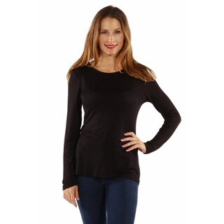 Link to 24/7 Comfort Women's Long Sleeve Knit Top Similar Items in Tops