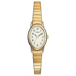 Timex Women's T21872 Cavatina Classic Goldtone Expansion Band Watch|https://ak1.ostkcdn.com/images/products/5809229/P13527981.jpg?impolicy=medium