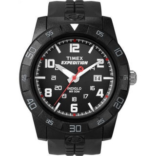 Timex Men's T49831 Expedition Rugged All Black Watch