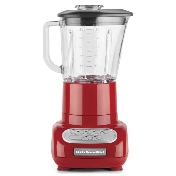 KitchenAid RKSB565ER Empire Red 5-Speed Blender (Refurbished)