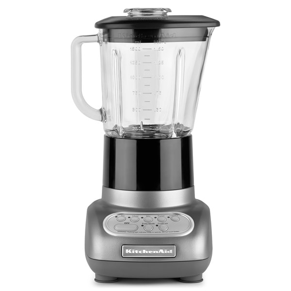 KitchenAid RKSB565SM Silver Metallic 5-speed Blender (Refurbished)