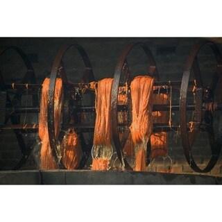 M.A.Trading Hand-woven Margarita Wool Rug (5'6 x 7'10)