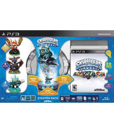 PS3 - Skylander's Spyro's Adventure Starter Pack - By Activision