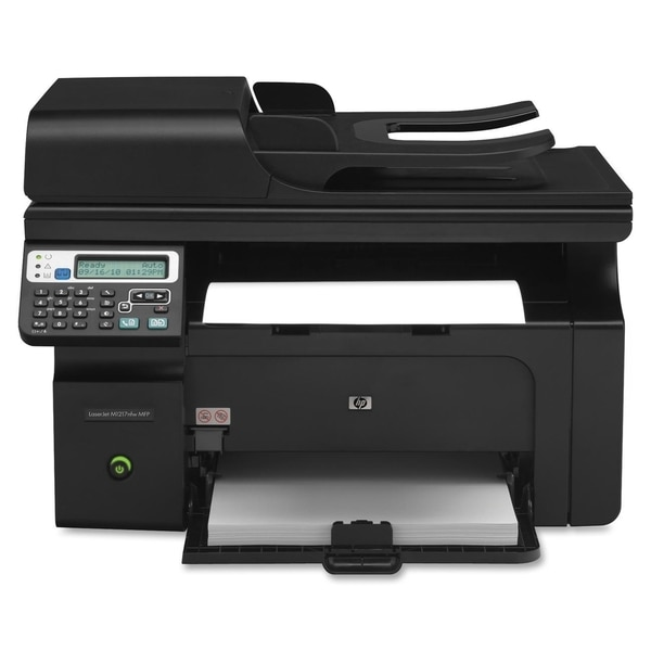 HP LaserJet Pro M1210 M1217NFW Laser Multifunction Printer - Monochro