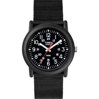 Timex Men's T18581 Camper Black Watch
