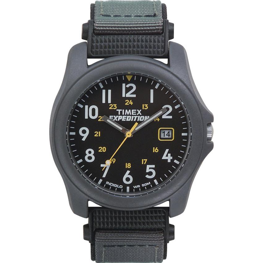 Timex Men's T42571 Expedition Camper Black Fast Wrap Watch