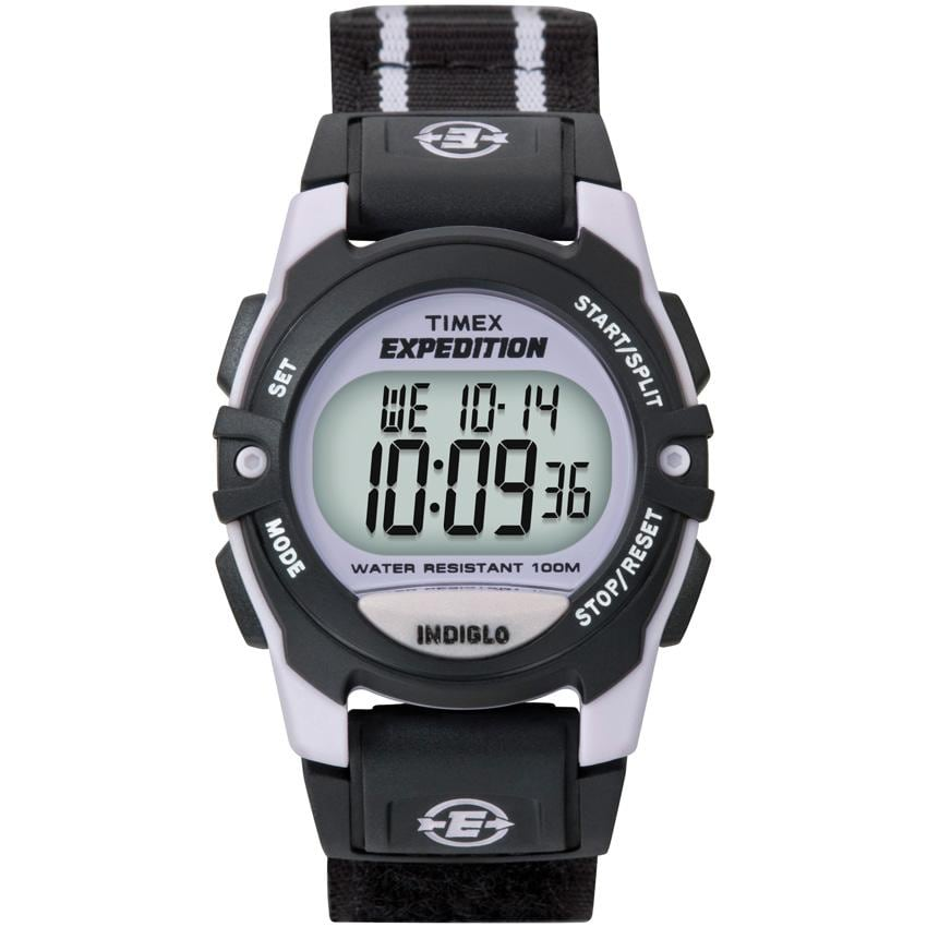 Timex Unisex T49658 Expedition Classic Digital CAT Black Fast Wrap Watch