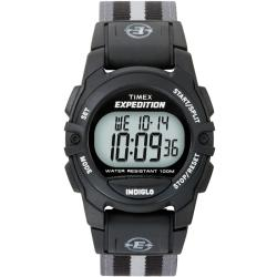 Timex T496619J Unisex Expedition Classic Digital CAT Fast Wrap Velcro Strap Watch