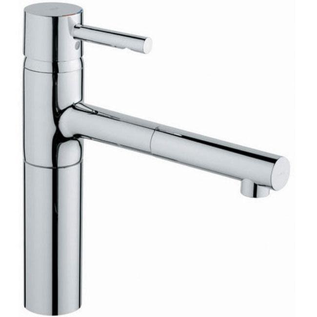 grohe essence chrome kitchen faucet. beautiful ideas. Home Design Ideas