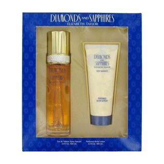 Elizabeth Taylor Diamonds and Sapphires Women's 2-piece Fragrance Set