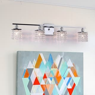 Four-light Chrome/ Crystal Wall Sconce https://ak1.ostkcdn.com/images/products/5811472/P13529586.jpg?impolicy=medium