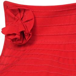 Adi Designs Women's Flower Detail Rolled Visor