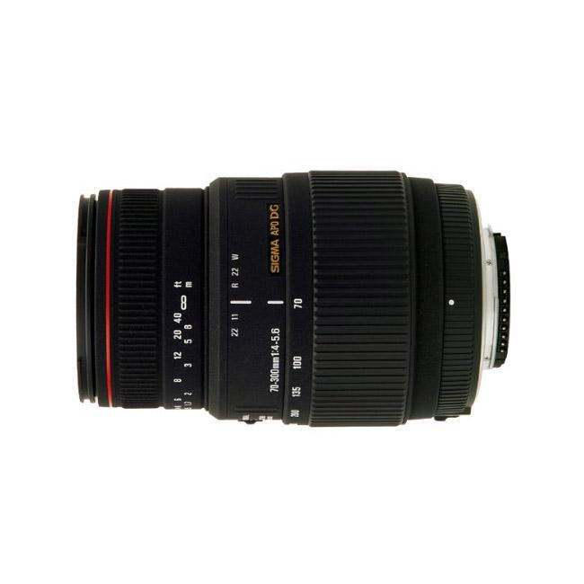 Sigma 70-300mm f/4-5.6 DG APO Macro Telephoto Zoom Lens for SLR Cameras