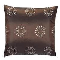 Brown Mayan Decorative Pillow