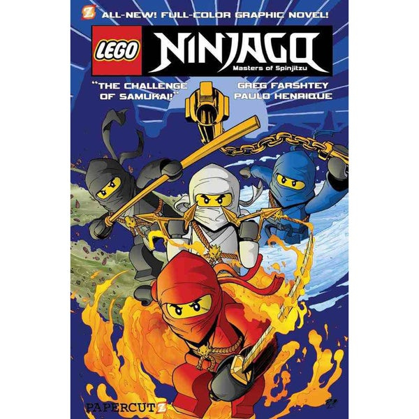 Ninjago 1: The Challenge of Samukai (Paperback)