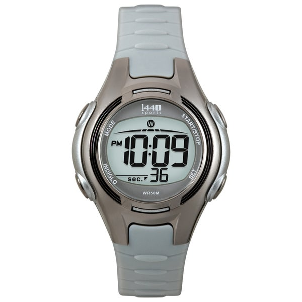 Timex T5K0859J Women's 1440 Sports Digital Black/ Grey Watch