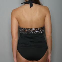 Anne Cole Women's 2-piece Halter Tankini Swimsuit
