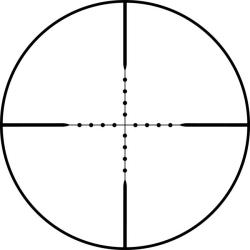 Bushnell Elite Tactical 2.5-16x42 Mil-dot Reticle Rifle Scope - Thumbnail 1