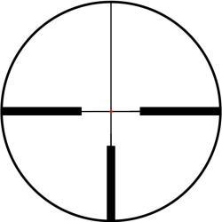 Bushnell Trophy XLT 1-4x24 Illuminated Reticle Rifle Scope - Thumbnail 1